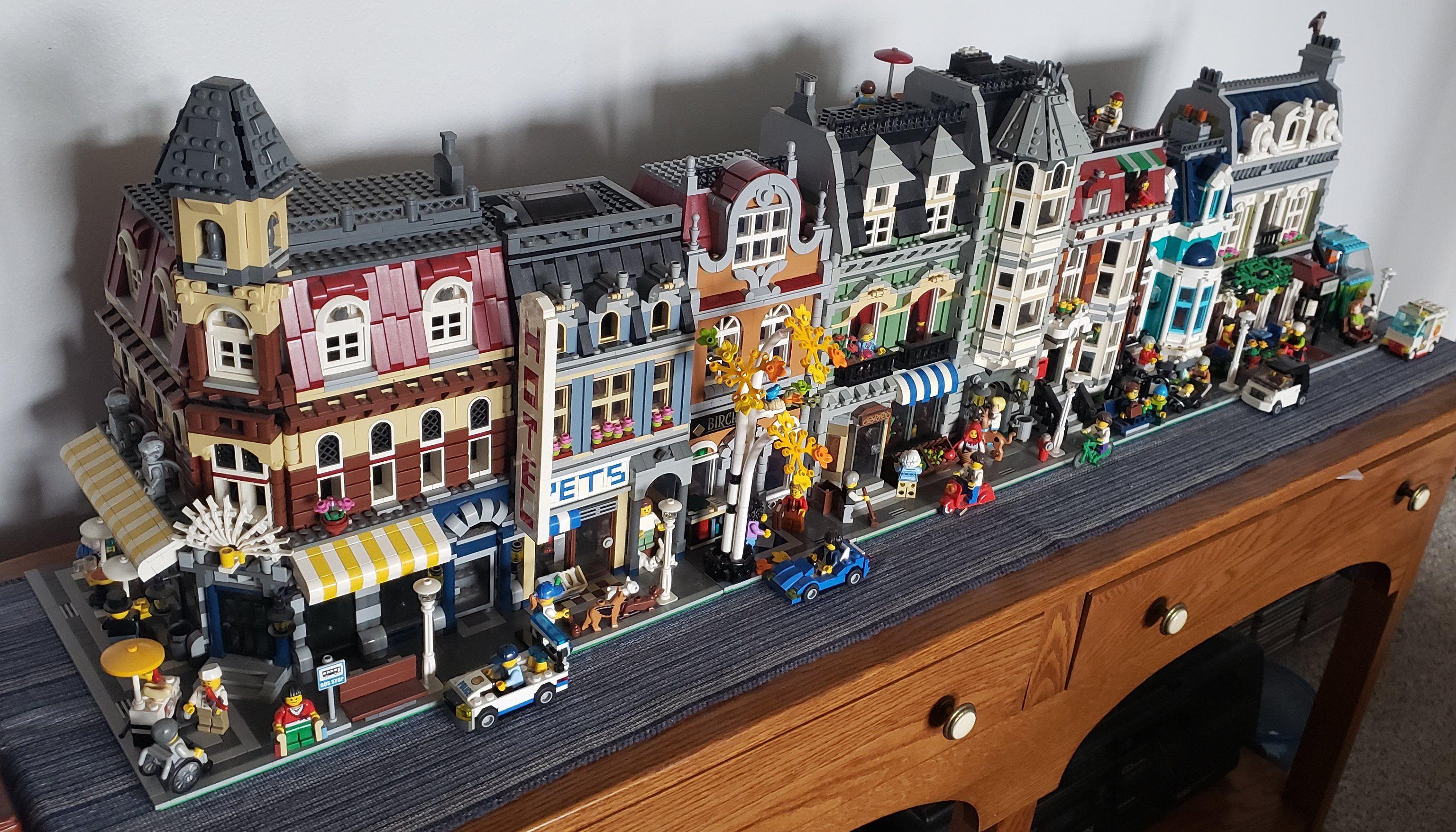 How To Build A Lego City