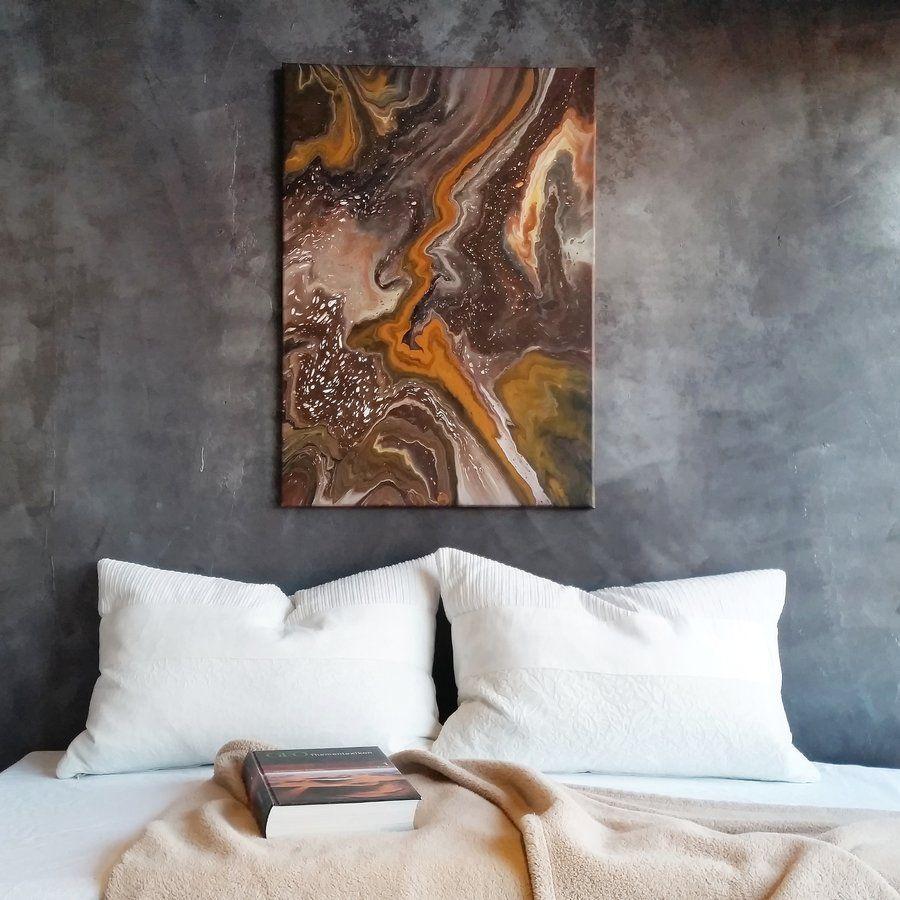 AuBergewohnlich Graue Wand II | SoLebIch.de Foto: Marlene Hoffmann #solebich #schlafzimmer # Einrichten #ideen #wandfarbe #lichterkette #bett #skandinavisch  #wandgestaltung ...