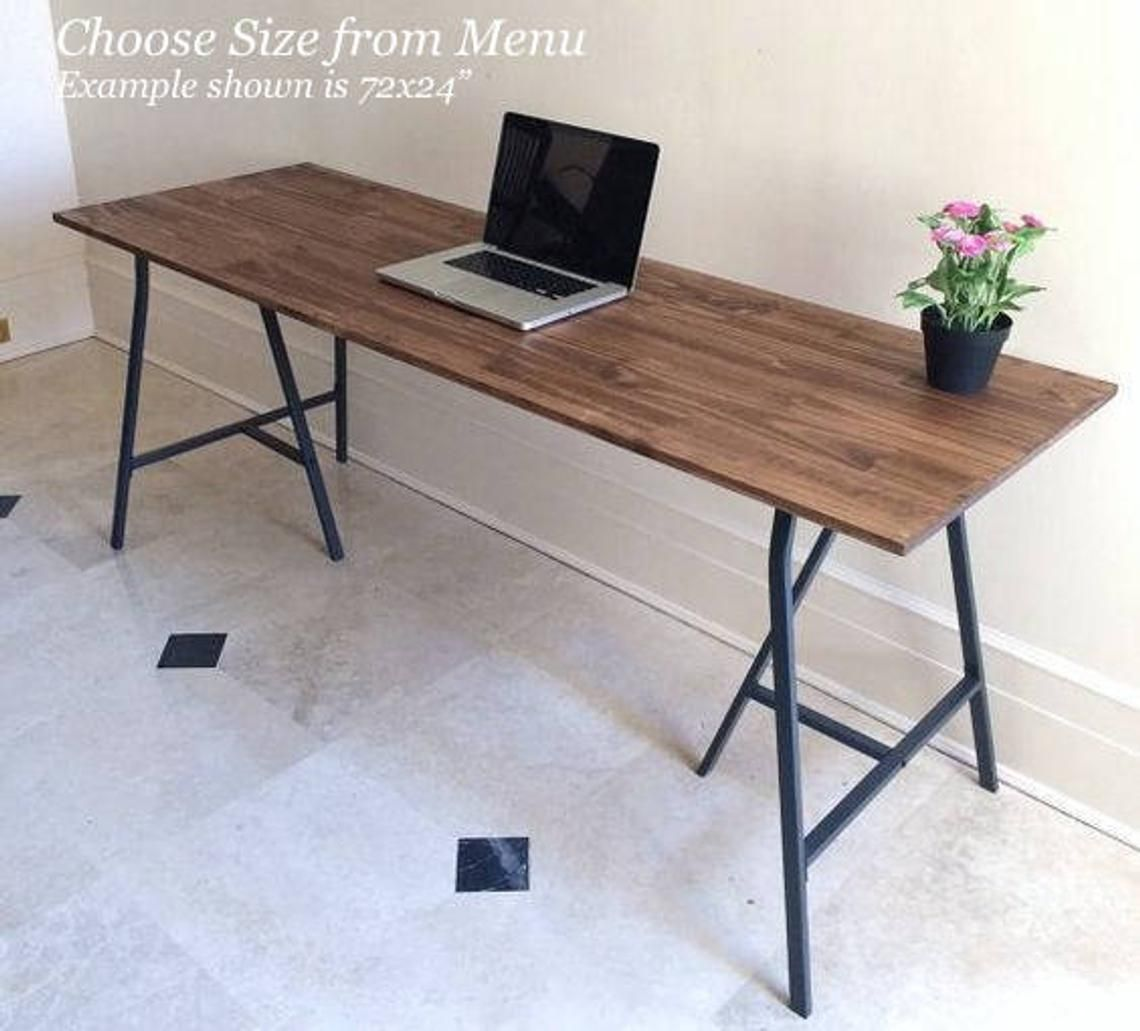 Golden Rule Narrow Desk Narrow Dining Tables Long Narrow Dining Table Wood And Metal Table