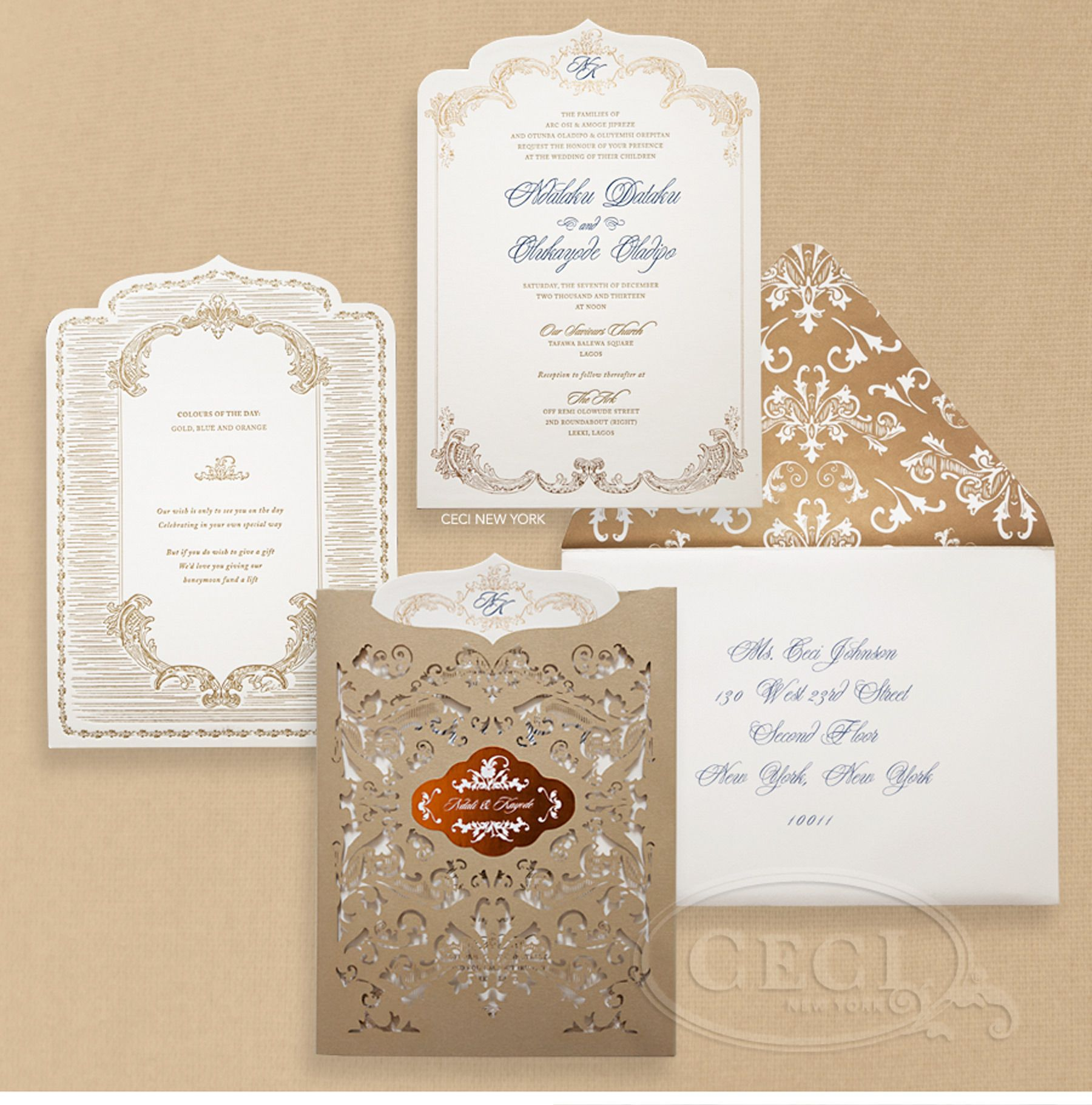 17 Best images about Invitations – Wedding Invitation Cards in Nigeria