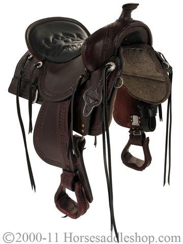 Tucker Saddles Old West Trail Saddle 277 w/Free Pad