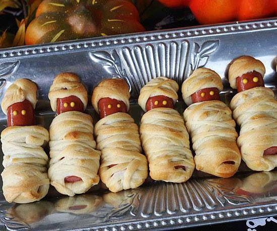 Lil Smokies mummies Lil Smokies crescent roll dough 810 min