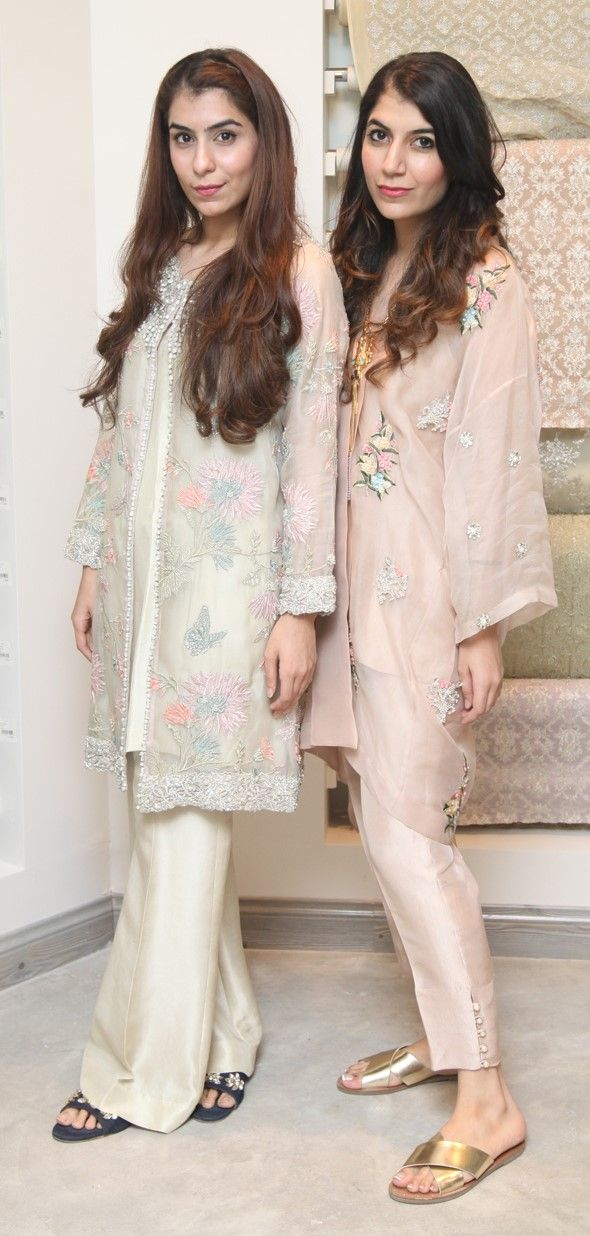 58605f2ed2 Minahil and Ayla Khan | indo-pak dresses | Dresses, Fashion ...