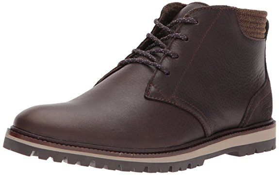 c1a37d0e Lacoste Men's Montbard Chukka 417 1 Ankle Boot, Dark Brown | Shoes ...