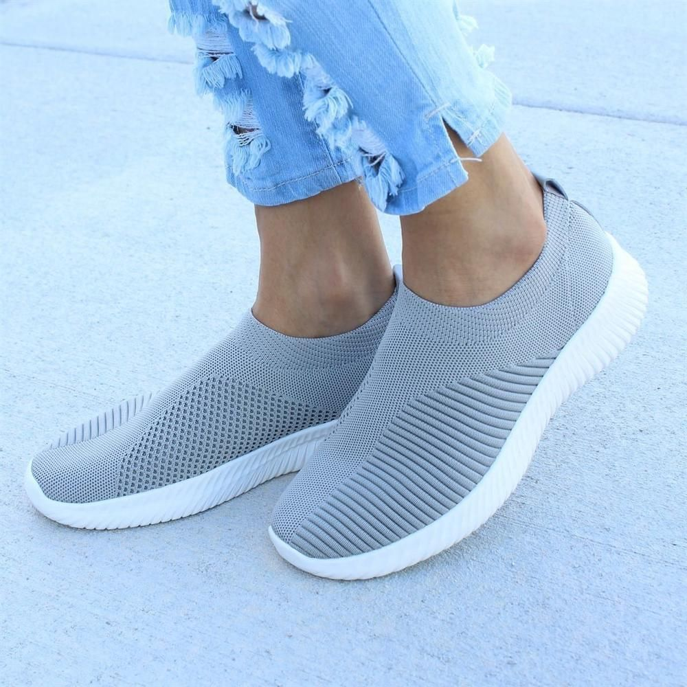 Breathable Fly knit Slip On Sneakers in 2019 | ???? ? ??????