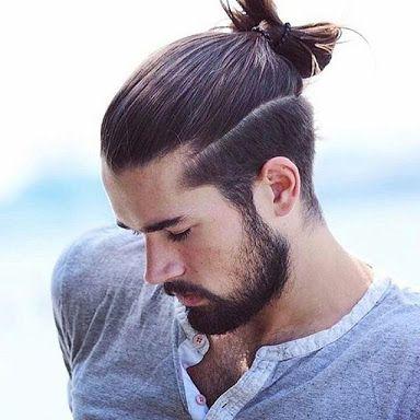 Cortes de barberia cabello largo