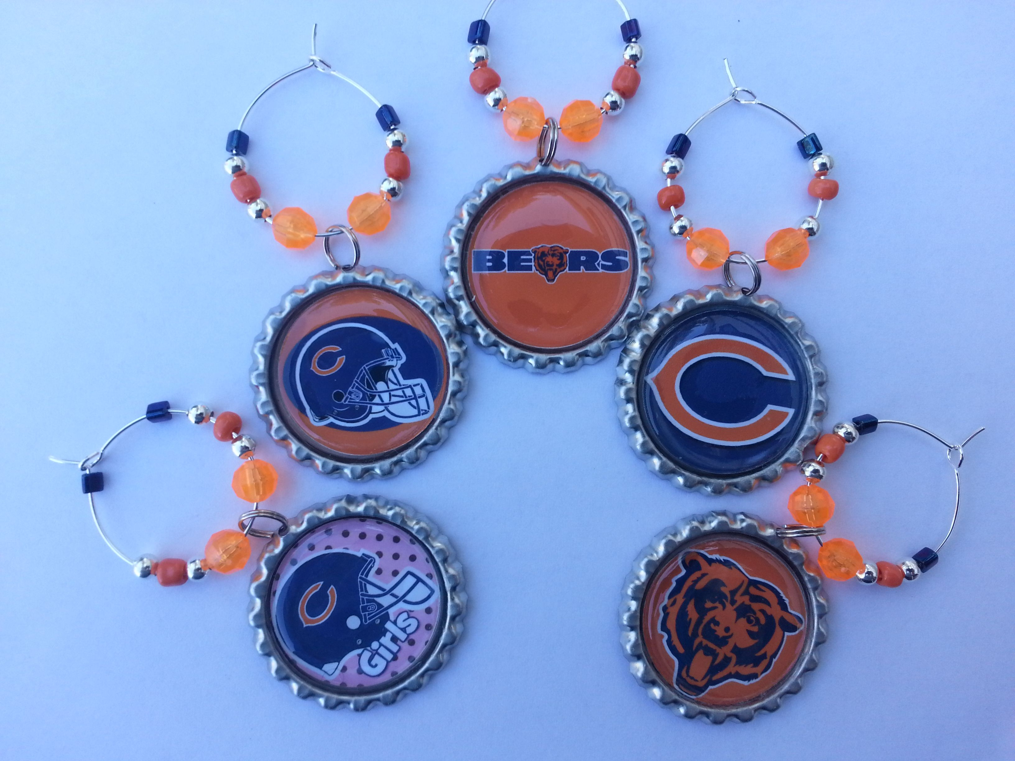 Chicago bears gift sets wine charms and more chicago