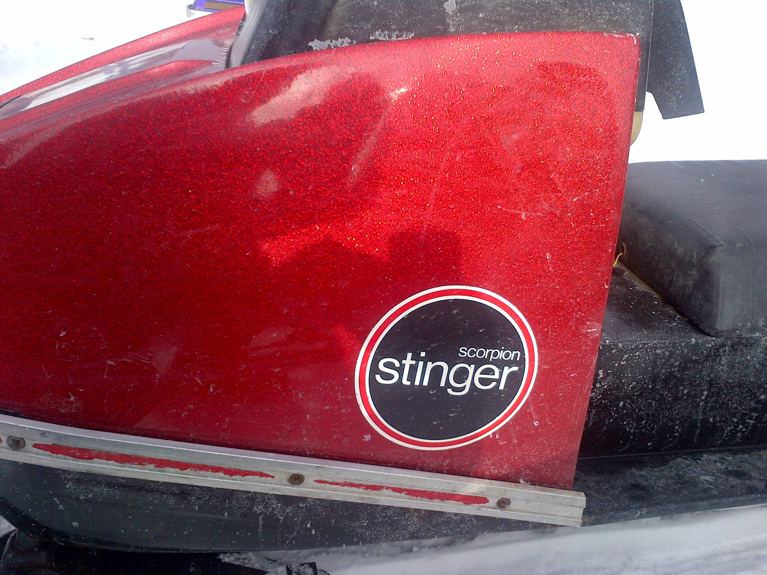 1971 Scorpion Stinger Scorpion Snowmobiles Scorpion Sled