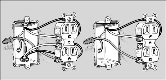 how to replace an electrical outlet for dummies