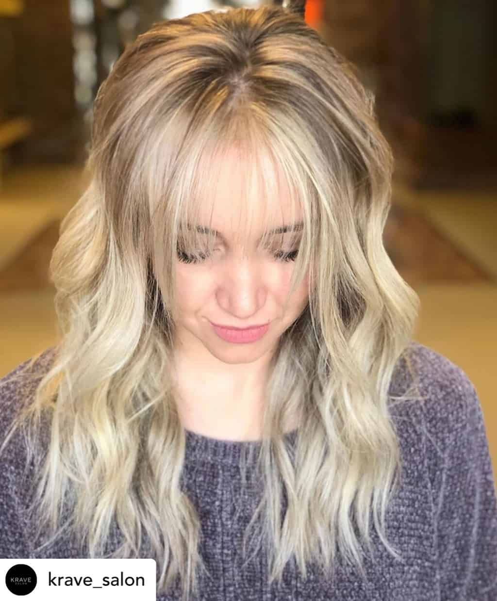15 Different Types of Bangs You Should Try in 2020 in 2020 | Mid length hair  with bangs, Hair, Wispy bangs