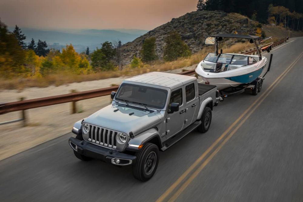 What Boats Can A Jeep Gladiator Tow 12 Examples Jeep