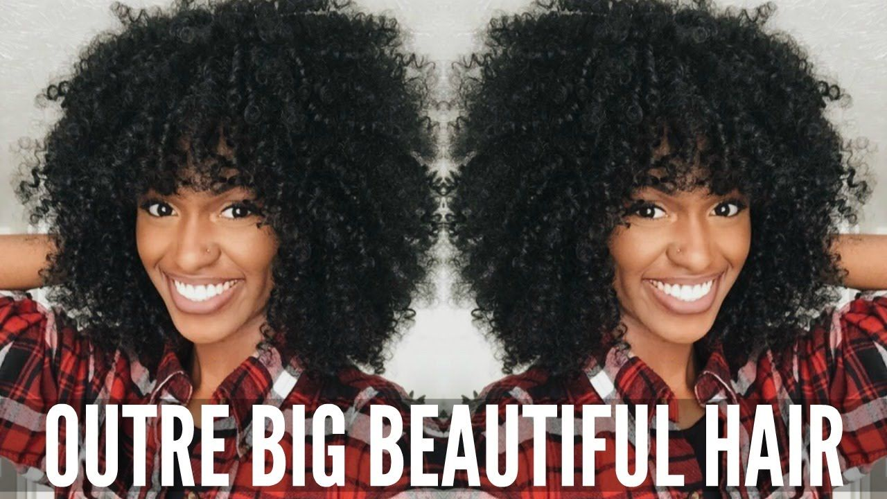 Outre a kinky big beautiful hair unboxing and review youtube