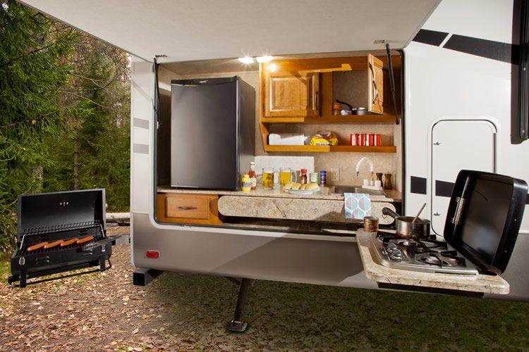 Outdooe Rv Kitchen Ideas on