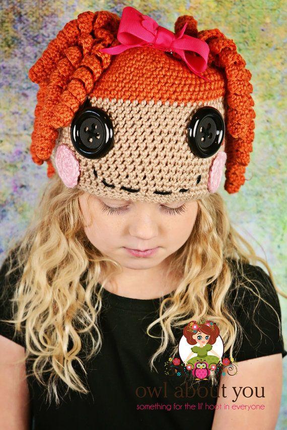 lalaloopsy | hats | Pinterest | Mütze, Muster und Häkeln
