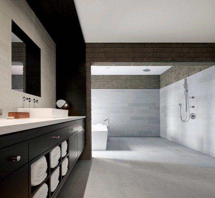 Douche à l\u0027italienne encastrable- 50 salles de bains modernes!