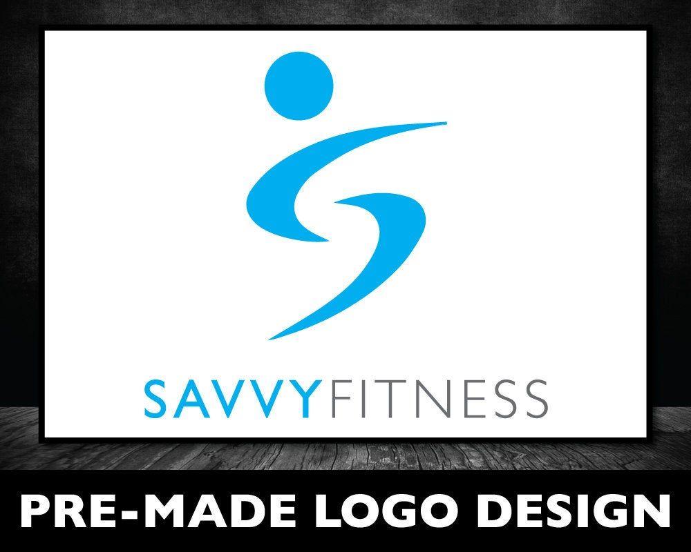 Logo Design  Fitness Logo  Health Logo  Letter S Logo  Fit | Etsy
