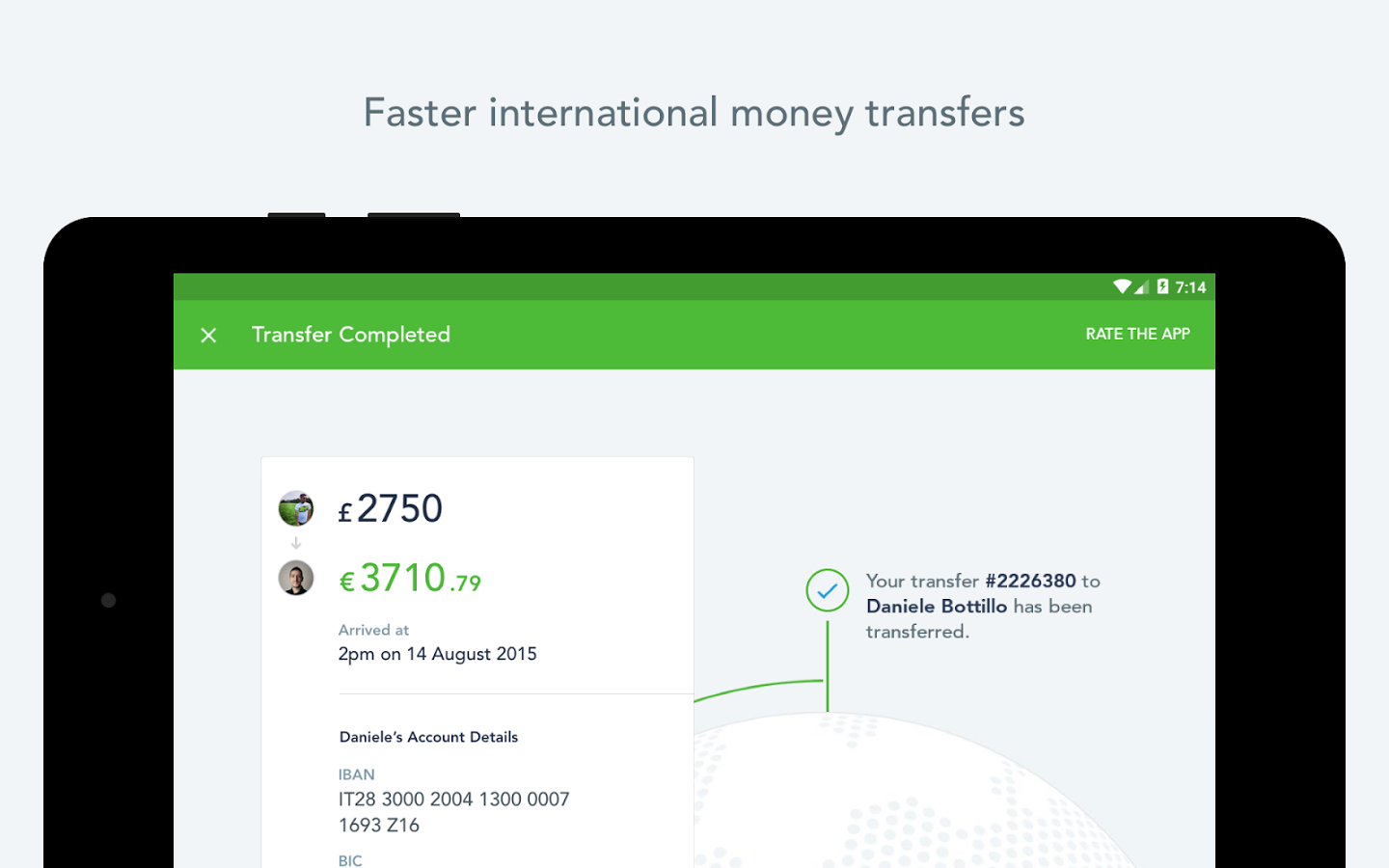 TransferWise Money Transfer Android Apps on Google Play