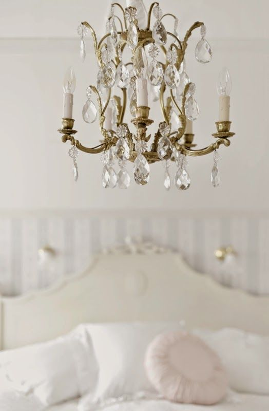 French crystal chandelier via madame petite fransk vintage french crystal chandelier via madame petite fransk vintage aloadofball Images