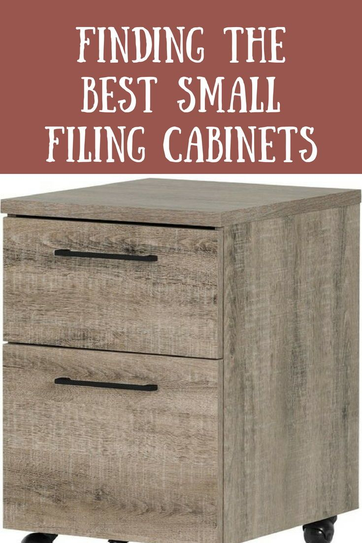 Finding The Best Small Filing Cabinets Cabinet