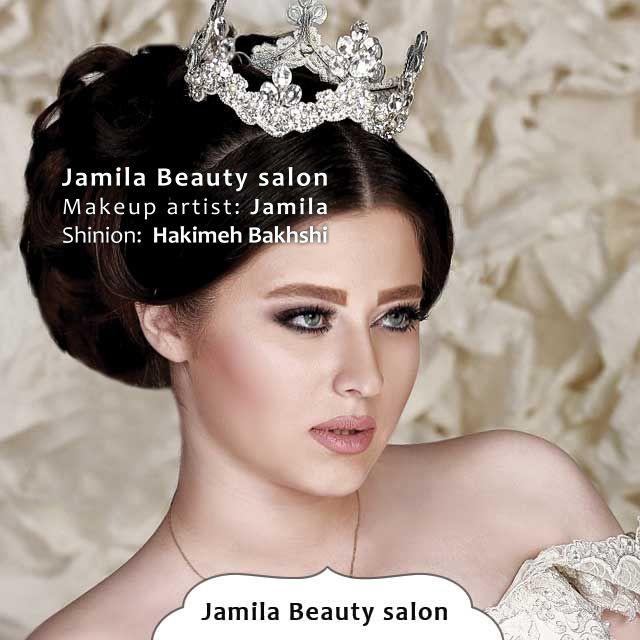 انستقرام Beauty Fashion 77: سالن آرایش و زیبایی جمیلا طراح شینیون توسط حکیمه بخشی میک