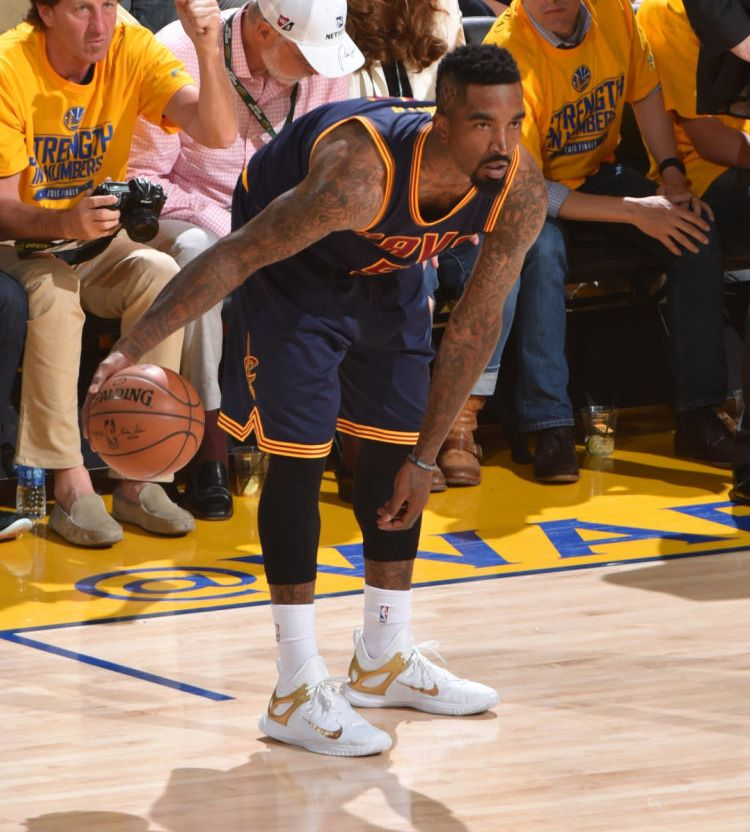 J.R. Smith wearing the Nike Zoom HyperRev 2015 | My likes | Pinterest | Nba  finals game, NBA and Finals