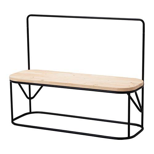 Panche Per Spogliatoio Ikea.Hjartelig Panca Con Attaccapanni Ikea Tempo Di Casa Nel 2019