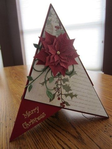 Christmas Teepee Card Christmas Cards Handmade Christmas Cards Christmas Card Inspiration