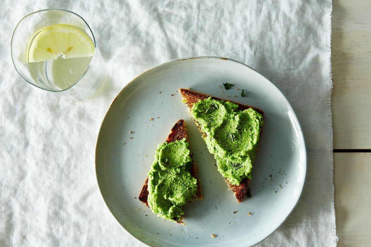 Sorry Avocados—There's a New Green Toast in Town on Food52
