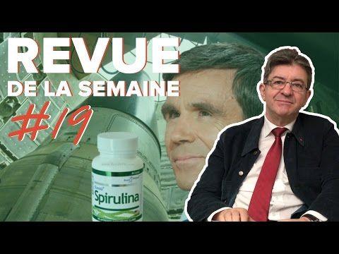 Le journal de BORIS VICTOR : Jean-Luc Mélenchon - RDLS19 - SPIRULINE, CONSTRUIR...