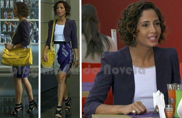 O estilo de Camila Pitanga na novela Insensato Coração