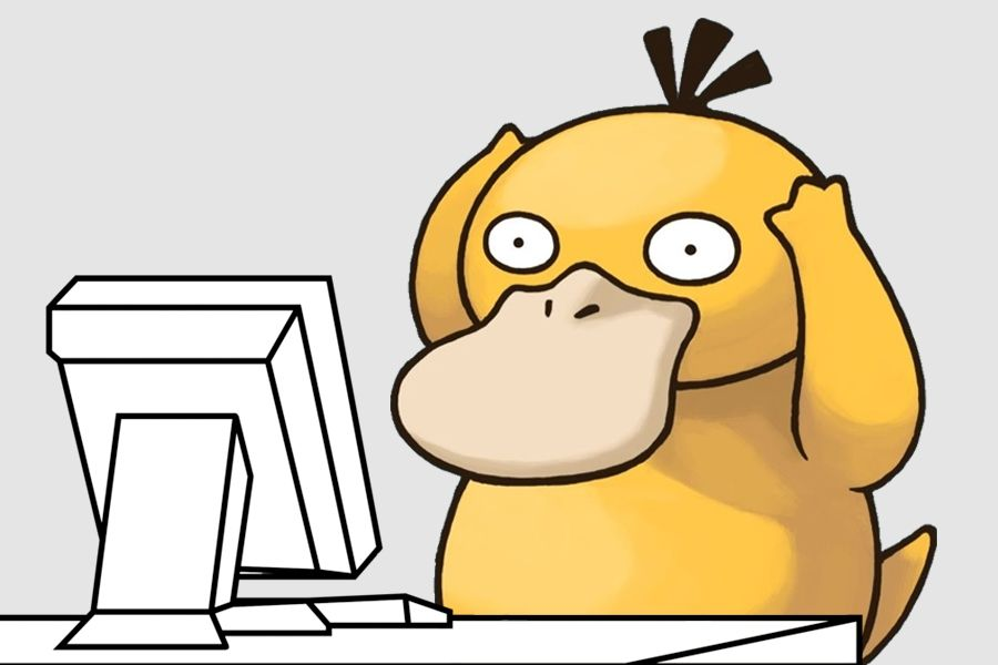 Psyduck computer meme | Psyduck, Pokemon quotes, Cute pokemon