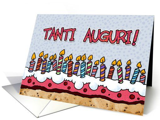 17 Best images about Buon Compli – Happy Birthday Greetings in Italian
