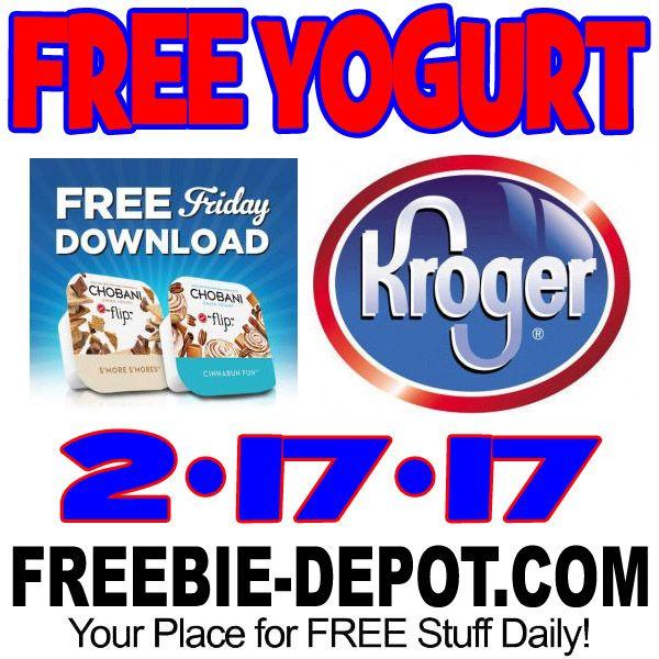 FREE Chobani Greek Yogurt Flip from Kroger 2/17/17 Free