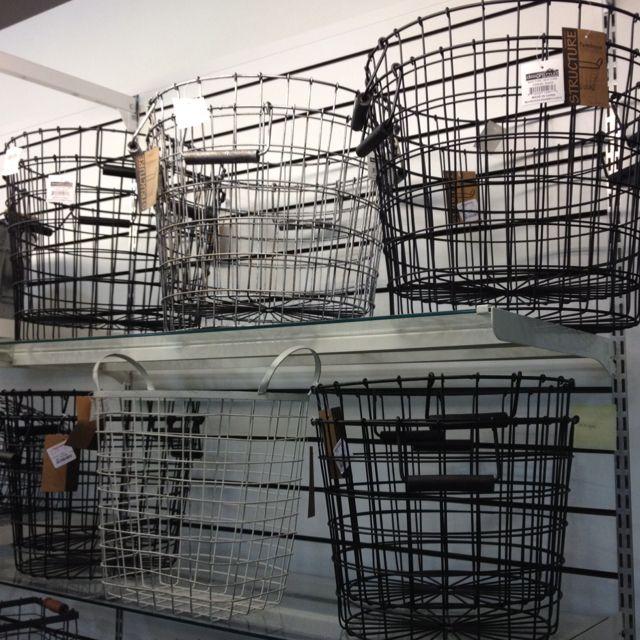 Tj Maxx Home Decor: Gorgeous Wire Baskets At TJ Maxx