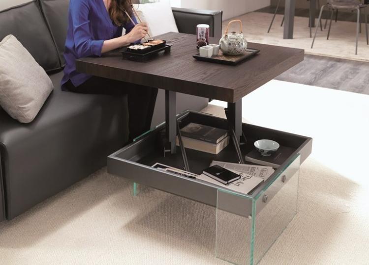 Höhenverstellbarer Couchtisch Als Praktisches Möbelstück