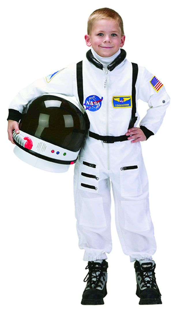 This Child Astronaut Jumpsuit will have your child ready to take flight. Your little space traveler will love dressing up in this top quality astronaut costume for Halloween. Its official look and feel make it seem like the real thing!