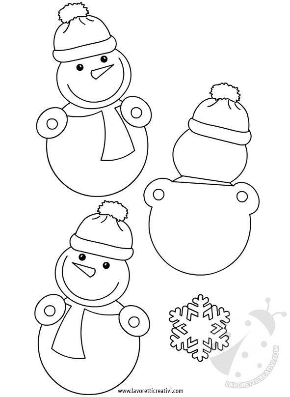 Decorazioni Inverno Scuola Disegni Christmas Crafts Winter