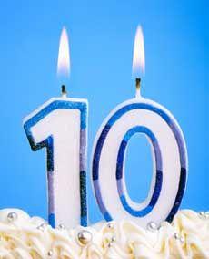 10 Month Anniversary Quotes : month, anniversary, quotes, Happy, Anniversary!, Telstra, Super, Birthday, Parties,, Double, Digit, Ideas,, Tenth