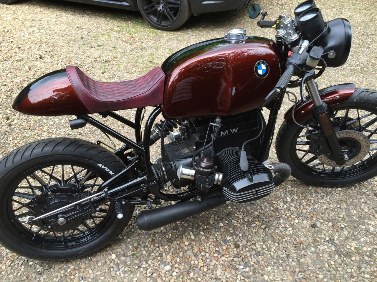 BMW R80 Cafe Racer by Naked Speed #motorcycles #caferacer #motos | caferacerpasion.com