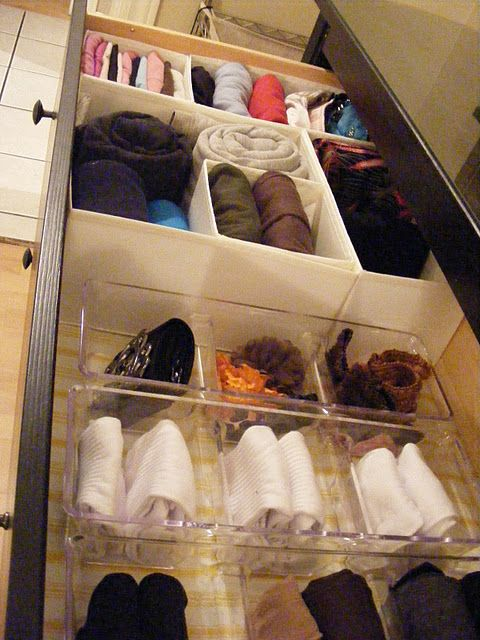 OrganizedHome} Day 14: Sock Drawer 101 (a k a How to Fold