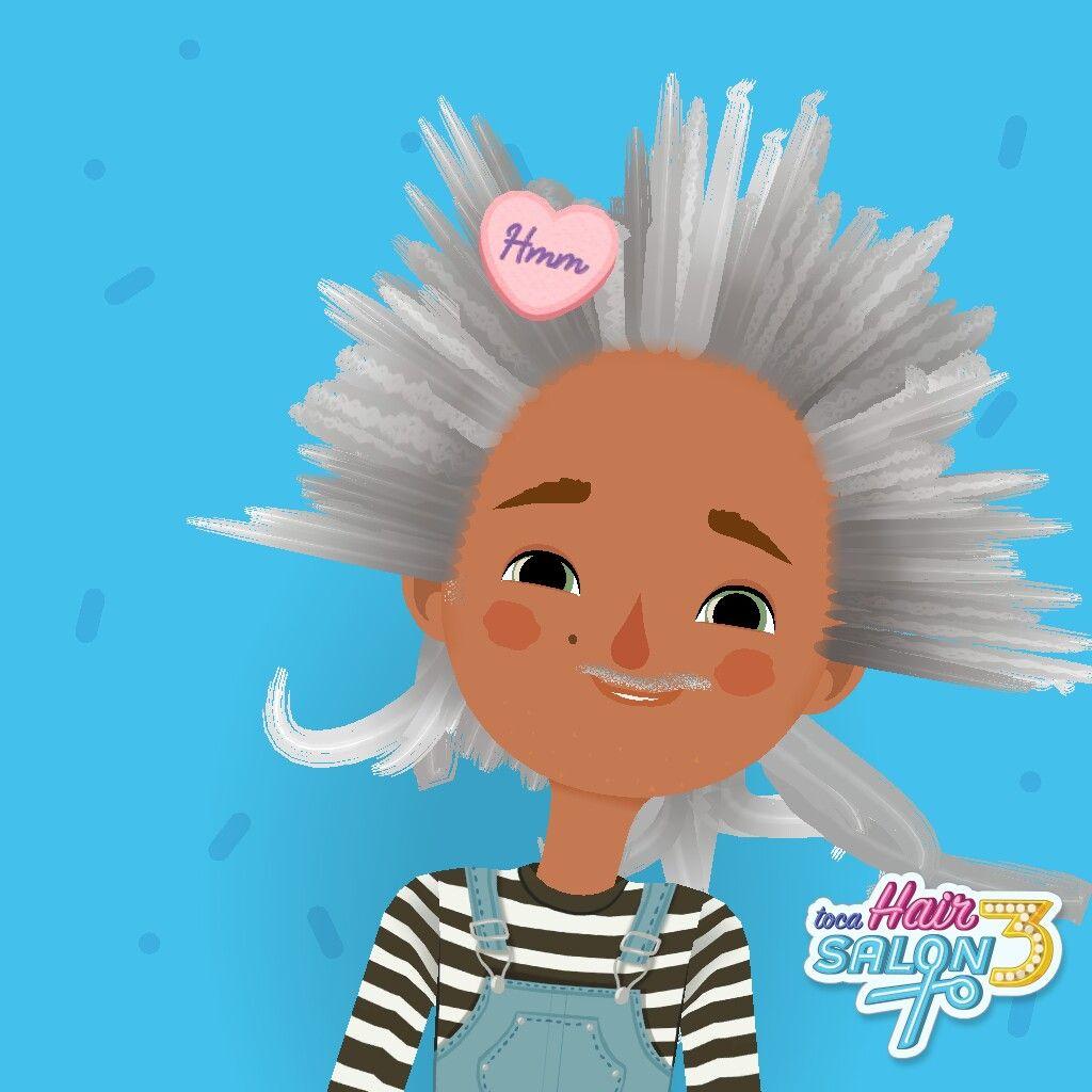 Toca Hair Salon 3 A Silly Question Hair Salon Character Disney Characters