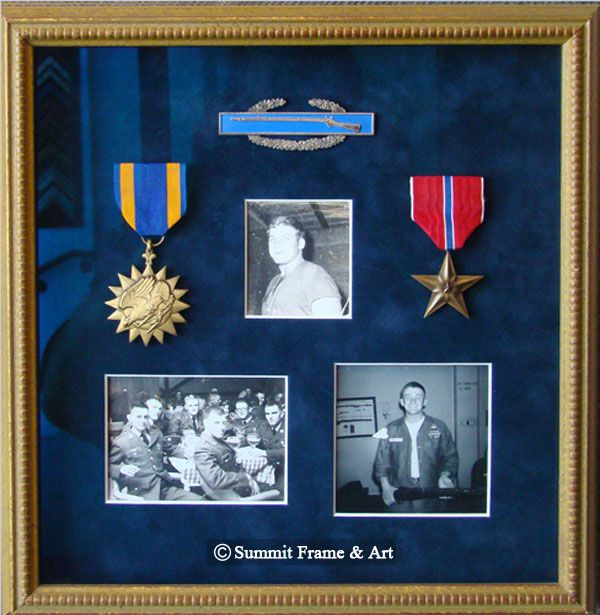 Best Way To Display Military War Medals And Awards Box Frame Art