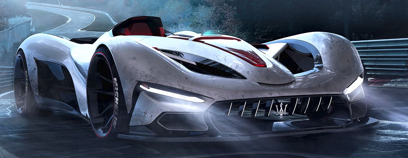 Enjoy projects compilation by Randy Hjelm, automotive designer from