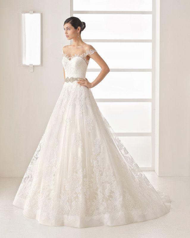olesa - 2017 bridal collection. rosa clará two. | rosa clará two