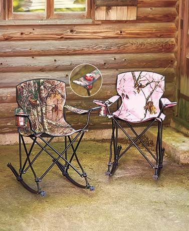 Realtree Rocking Chair Upgrades The Typical Collapsible Chair With All The  Comfort Of Sitting On Your Front Porch. This Portable Rocking Chair Is  Perfect ...