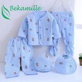 Neugeborene Babykleidung 5pcs / set