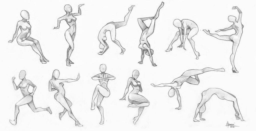нарисовать рисунок в движении новых