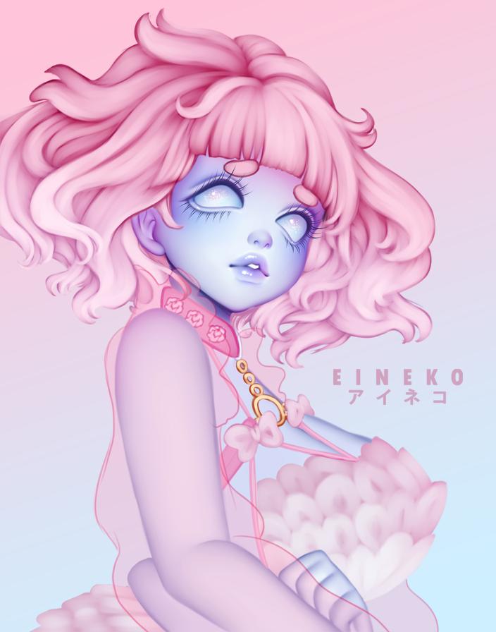 Eineko 💖🐱 Digital Artist on Twitter