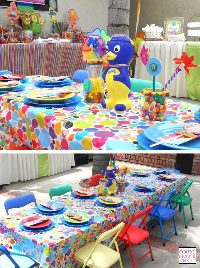Backyardigans Party Favors