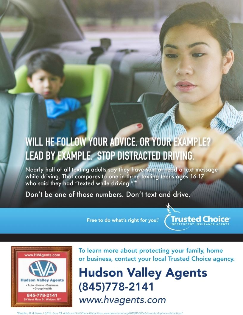 Distracted Driving Prevention Starts At With You Insurance